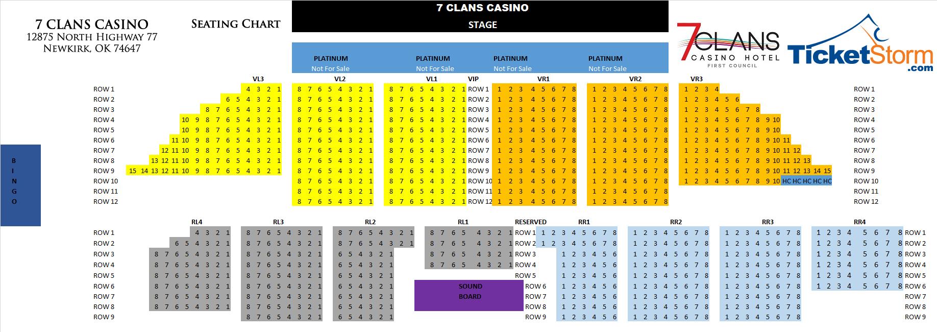 Entertainment 7 Clans Casinos