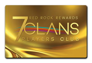 Red Rock Rewards 7 Clans Players Club | Gold Card