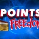 Points Freedom @ all 7 Clans Casinos